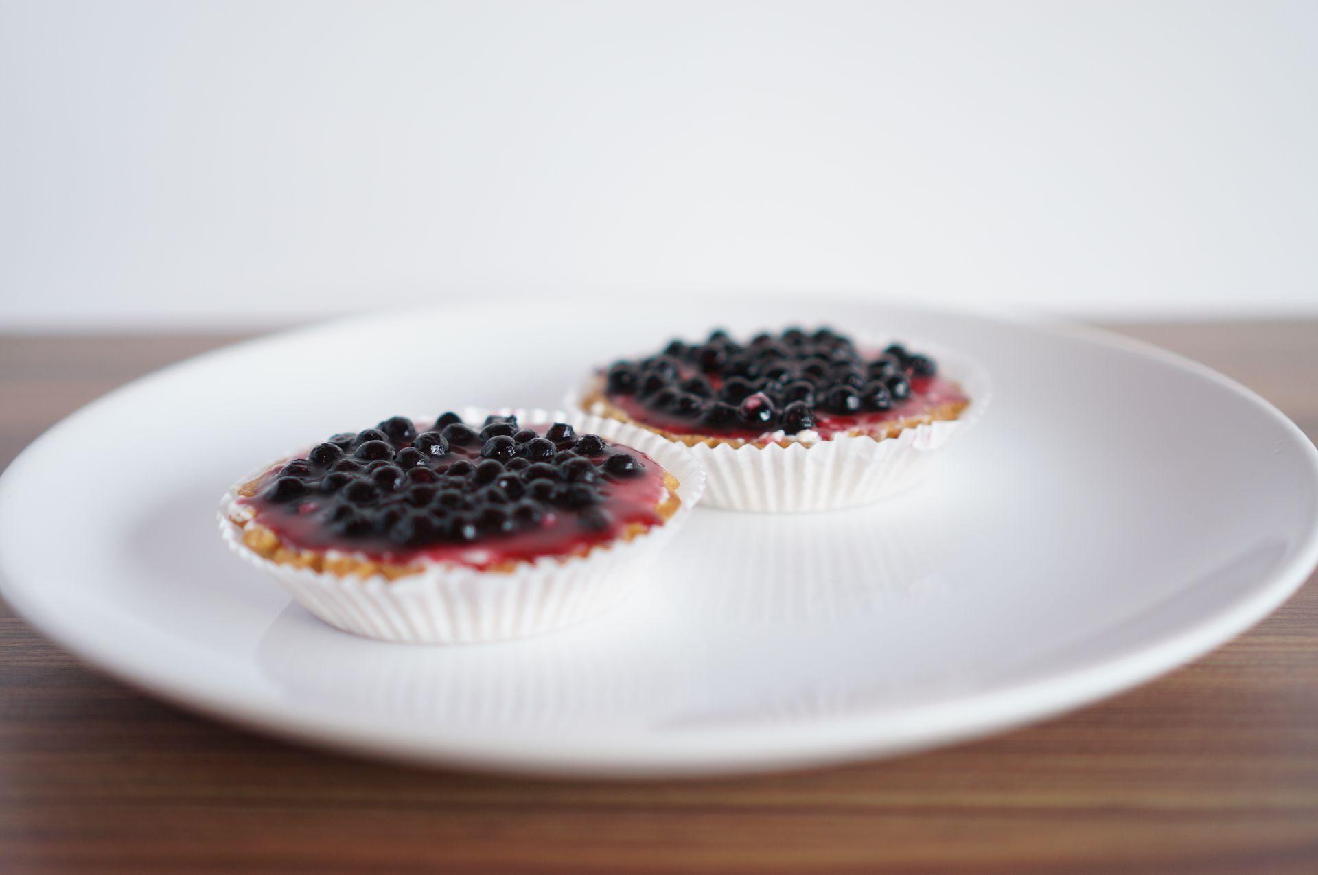 Tartaletės (varškės kremo su mėlynėmis)