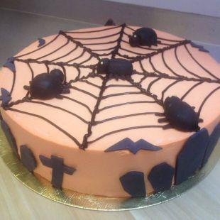 Halloween tortas