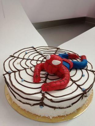 Spiderman valgomas papuošimas