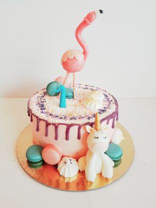 Tortas flamingo