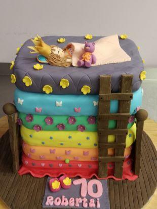Tortas princesė ant žirnelio