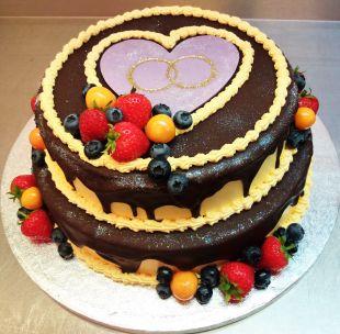 Tortas proginis vestuvių metiniu