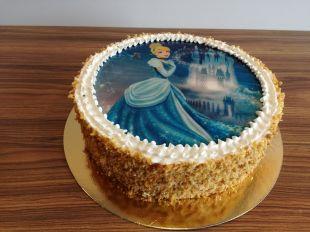 Valgomos dekoracijos papuošimas Cinderella, Pelenė
