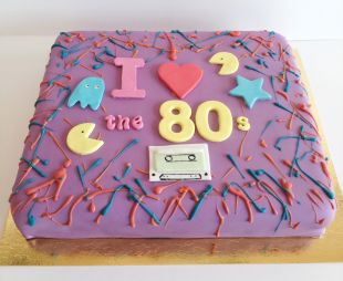 tortas I love 80 tis