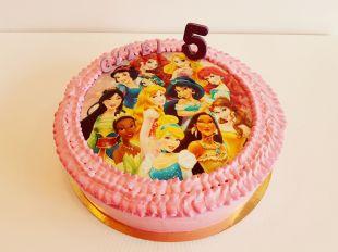 tortas disney princess, princese