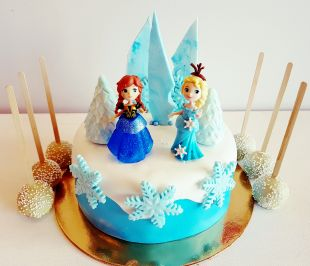 tortas frozen, ledo šalys