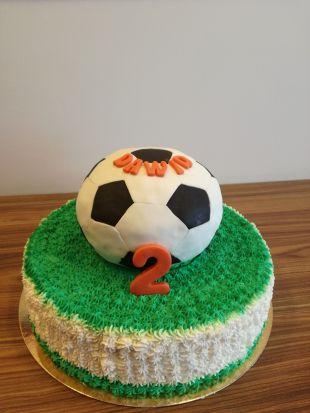 tortas futbolo kamuolis