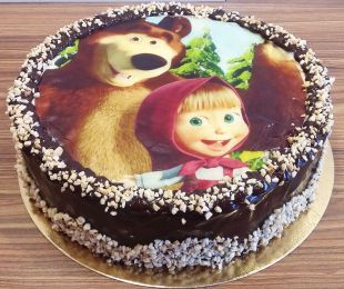 tortas masha ir lokys
