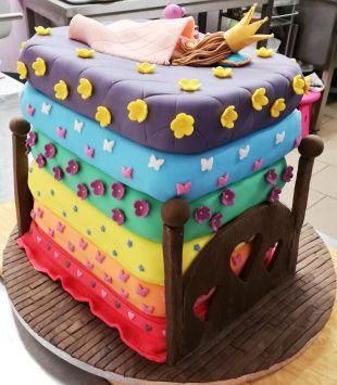 tortas princese ant zirnio