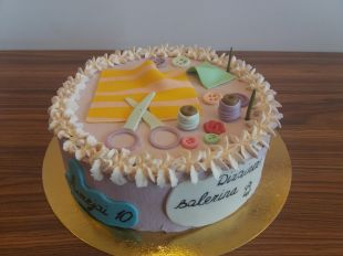 tortas siuvejai