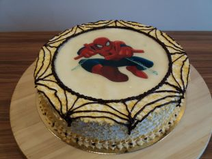 tortas spider man, zmogus voras