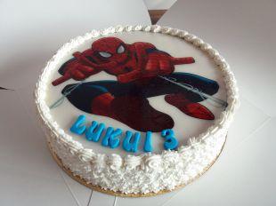 tortas spider man